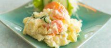 痩せやすい体作りに繋がる。食物繊維たっぷりのおからを使ったポテトサラダのレシピ