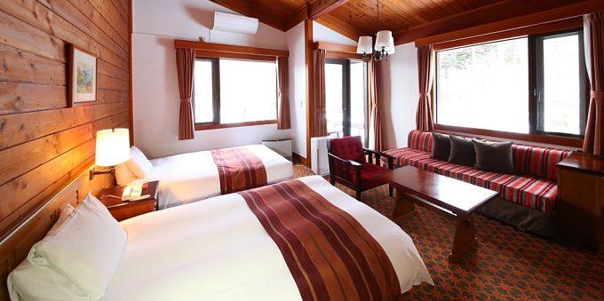 秋の旅行におすすめ長野・蓼科の「蓼科東急ホテル」の部屋