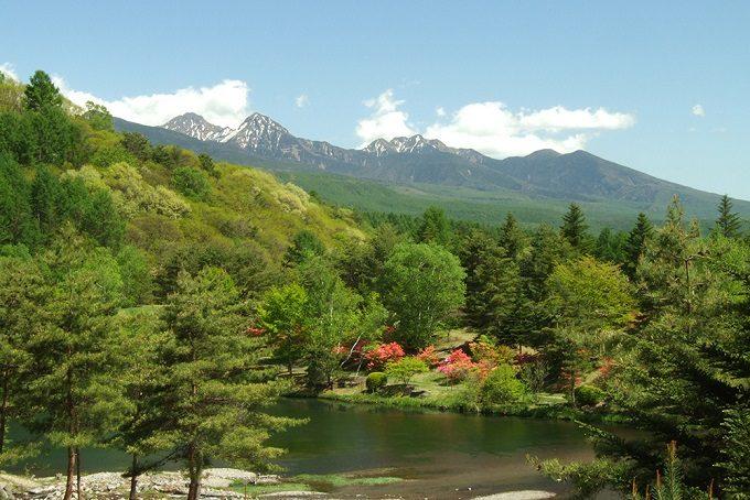 秋の旅行におすすめ長野・蓼科の風景