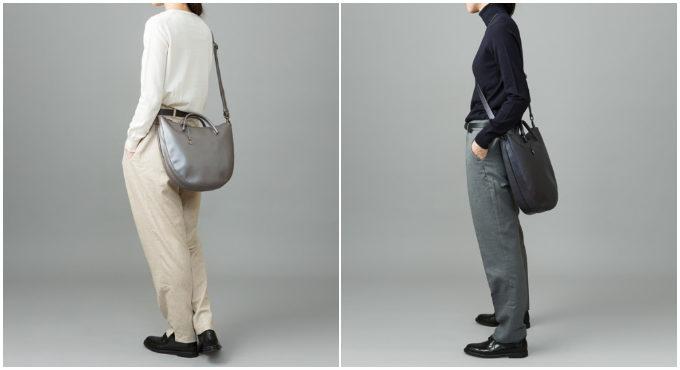 大人女子におすすめ、「マザーハウス」の上品なレザーバッグ「Tsuiakari -月明り-」コーディネート例2