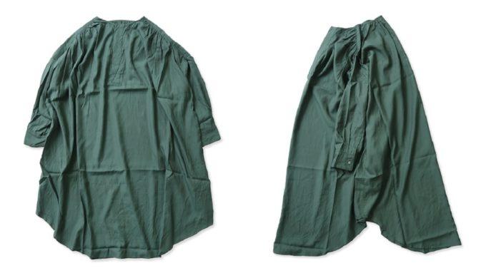 ユニヴァーサルティシュのロングシャツ