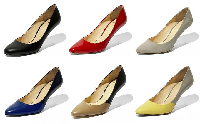 ヒールが取り替え可能な「FAMZON(ファムゾン)」のおしゃれな着せ替え靴のボディ部分