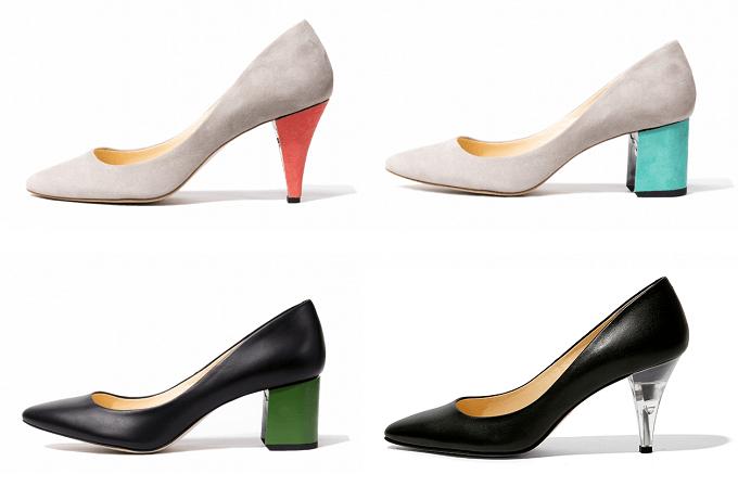 ヒールが取り替え可能な「FAMZON(ファムゾン)」のおしゃれな着せ替え靴の組み合わせ例