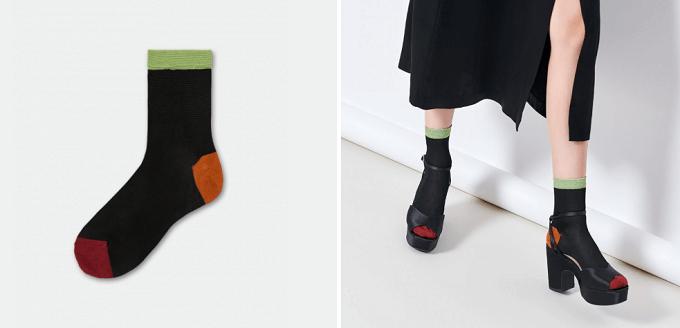 秋冬におすすめの「HYSTERIA(ヒステリア)」のおしゃれな靴下「Grace」