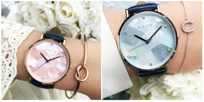 おすすめ腕時計、「ALETTE BLANC リリーコレクション」