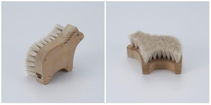 宇野刷毛ブラシ製作所のかわいい動物の形の「アニマルブラシ 馬」