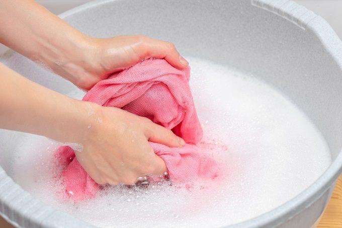 ニットを手洗いする時のポイント2