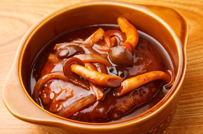 冷凍作りおきおかずにおすすめ「トマト煮込みハンバーグ」