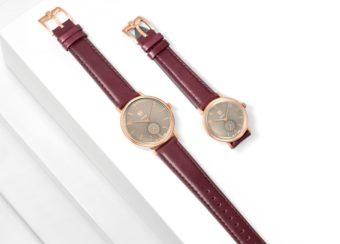 秋冬にぴったり。シンプルデザインに大人なカラーが魅力な「DUFA」の腕時計