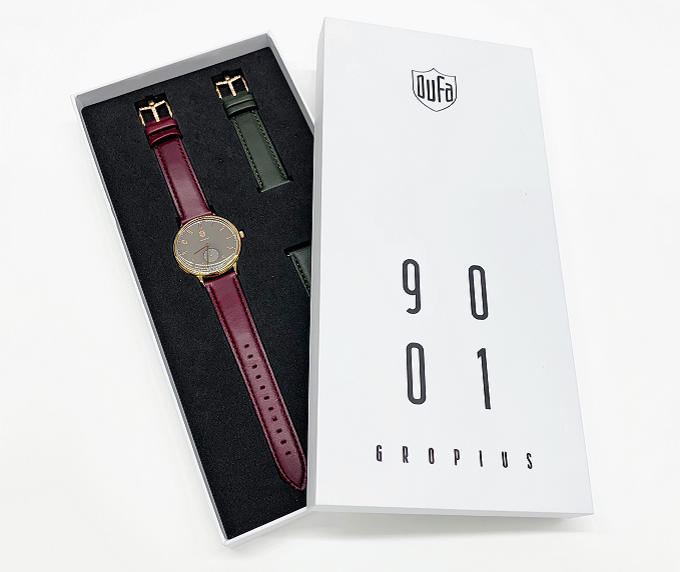 秋冬におすすめのシンプルデザインに大人なカラーが魅力な「DUFA」の腕時計、数量限定モデル