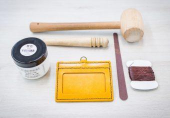 世界にひとつだけのお気に入りを自分の手で作る。東急ハンズのプロに教わる革小物の作り方