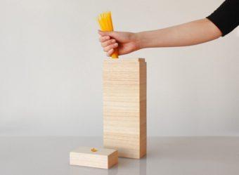 伝統の京指物を現代風に。桐材で作られた「KEI」の美しいキッチン小物