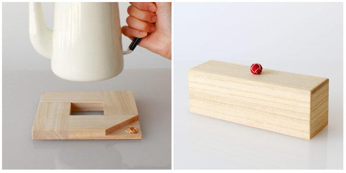KEIの桐を使ったキッチン小物3
