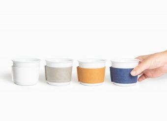 シンプルで美しく、現代的。煎茶堂東京のオリジナル湯呑み「着替える有田焼」