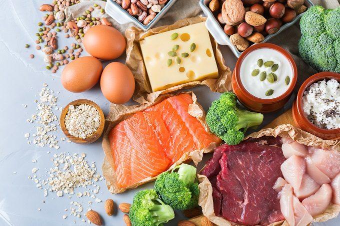 筋肉量と基礎代謝のキープに必要なタンパク質豊富な食材