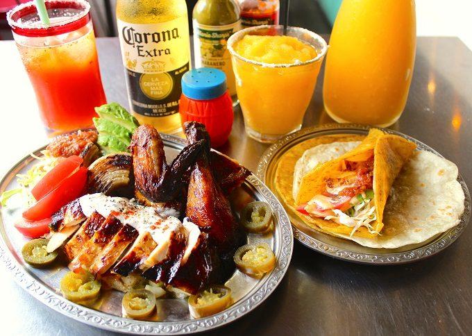 渋谷ストリームのおすすめメキシカンレストラン「墨国回転鶏酒場(ボッコクカイテントリサカバ)」の料理