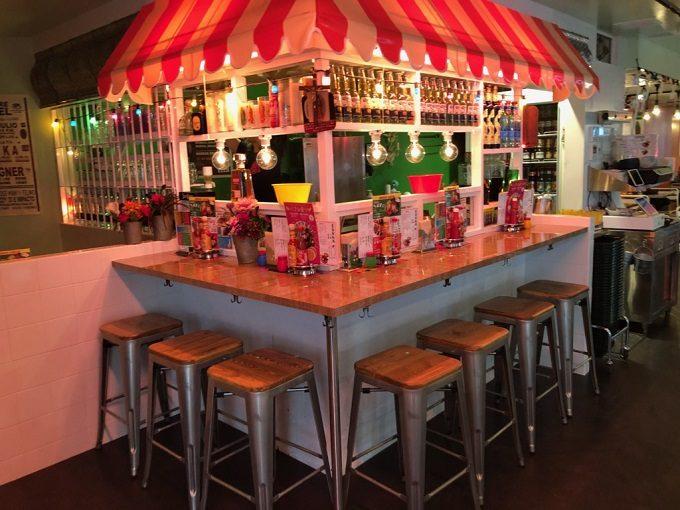 渋谷ストリームのおすすめメキシカンレストラン「墨国回転鶏酒場(ボッコクカイテントリサカバ)」の店舗写真