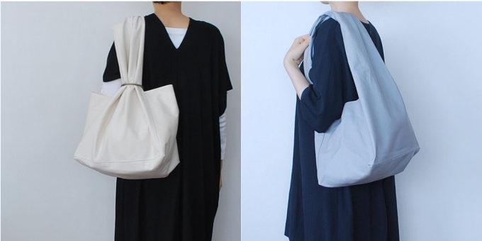 「skep(スケップ)」のリングパーツによって表情の変わるシンプルでおしゃれなバッグ