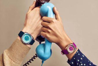 70年代のダイヤル式電話機からヒントを得た、レトロな腕時計が発売