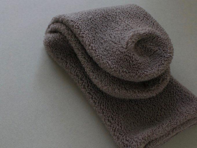 自然素材を使ったグリュックントグーテの靴下2