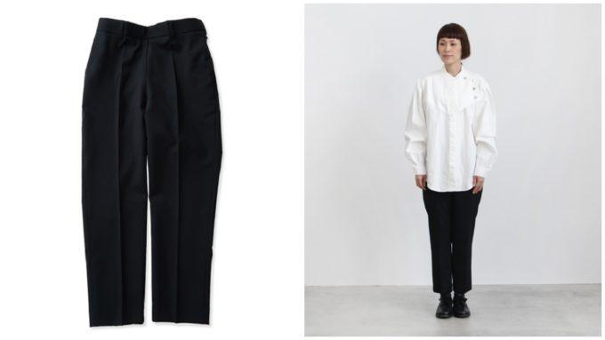 オオシマレイの黒パンツ