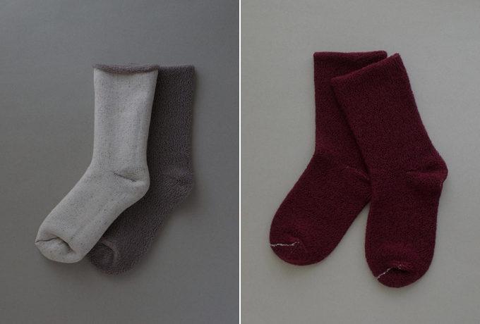 自然素材を使ったグリュックントグーテの寝るときに履く靴下