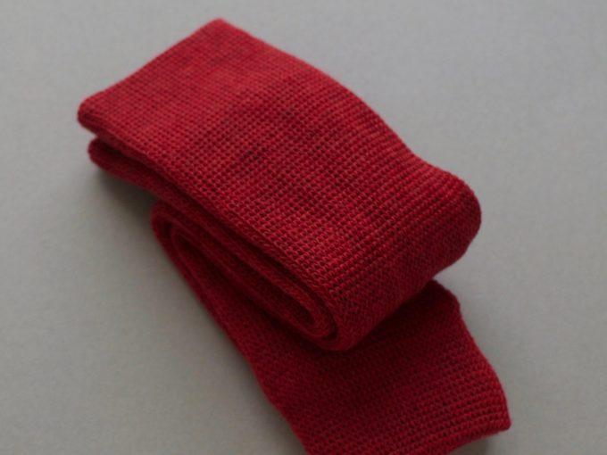 自然素材を使ったグリュックントグーテの靴下4