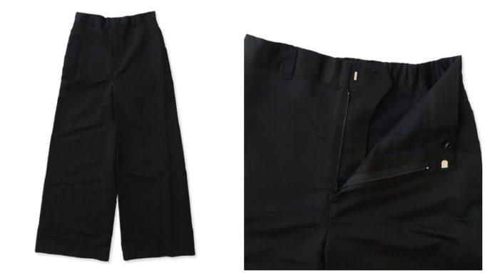 オールドマンズテーラーの黒パンツ