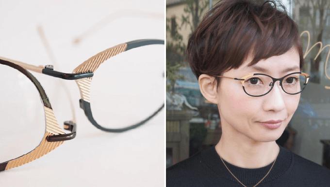 大人女子におすすめのおしゃれな眼鏡ブランド「AKITTO」のおすすめ眼鏡「les」シリーズ