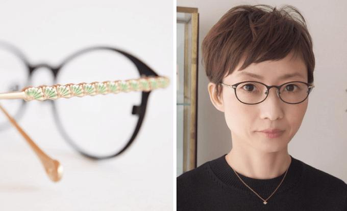 大人女子におすすめのおしゃれな眼鏡ブランド「AKITTO」のおすすめ眼鏡「sal」シリーズ