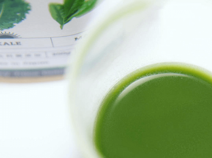 便秘解消や美肌つくりにおすすめの「Eat Good Food」の飲みやすい青汁3