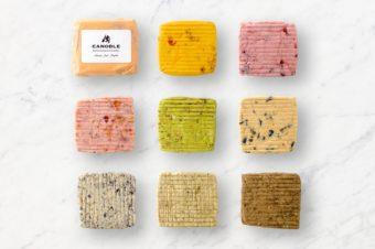 バターをそのまま食べるという新発想。具がぎっしりと詰まった「ブール・アロマティゼ」