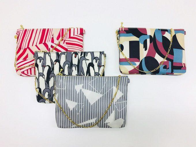 働く女性におすすめ、ミニバッグのように持てる「Design Yourself」の華やかなポーチ