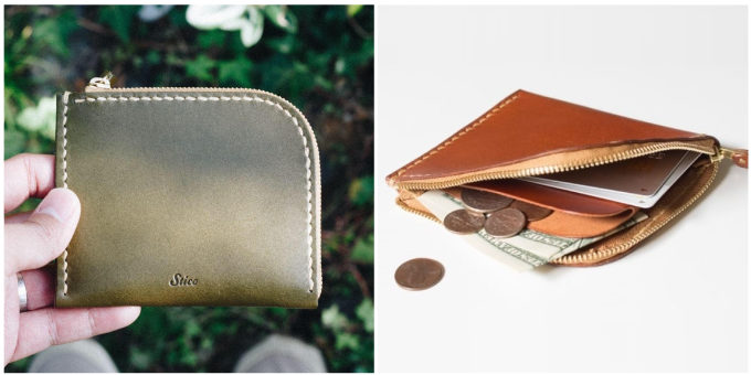 「Duram Factory(ドゥラムファクトリー)」のコンパクトなファスナー付きの革財布