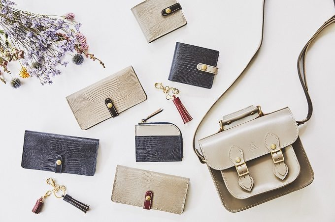 「GRACE COLLECTION」の上品な革バッグや革財布2