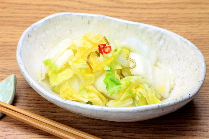 おすすめの常備菜「漬物」