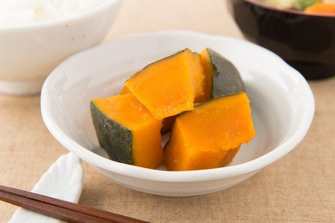 ビタミンや食物繊維がたっぷりのかぼちゃの煮物