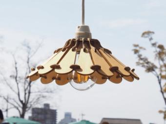 配色を自由に変更可能。あなたのお部屋を素敵に彩る「ナカオランプ」のランプシェード
