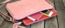 スマホやお財布も入る機能的でかわいいパソコンケース