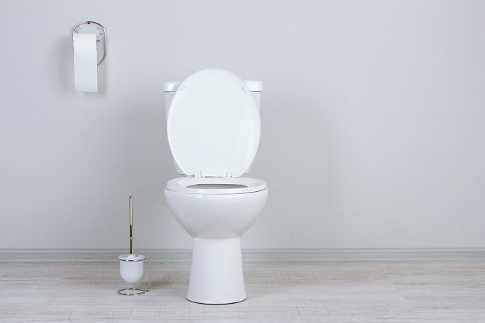 清潔な洋式トイレ