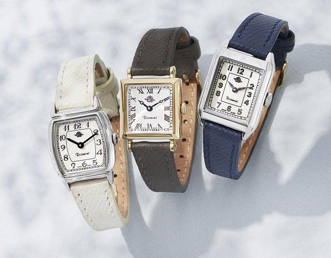 大人女子におすすめクラシカルな雰囲気の「Rosemont(ロゼモン)」の腕時計