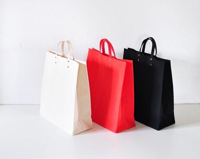 大人女子におすすめの「TEMBEA」のトートバッグ「PAPER BAG BASIC」