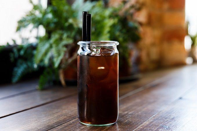 ホットで飲むのもおすすめ、「COLD BREW(コールドブリューコーヒー」3