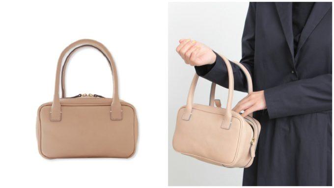 フォーマルにも普段使いにもおすすめ「SHOJIFUJITA ショウジフジタ」の小さめハンドバッグ