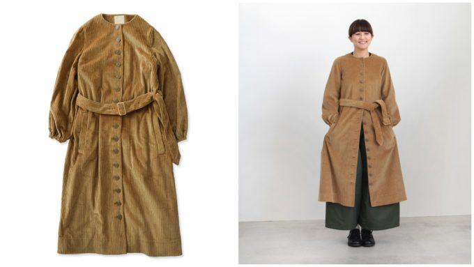 この冬おすすめのYAB-YUM ヤブヤムのコート