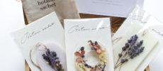 おしゃれなデザインと香りが魅力の「ボタニックサシェ」数種類