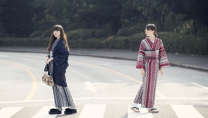 簡単に着られる「KIMONO by NADESHIKO」の着物コーディネート例1