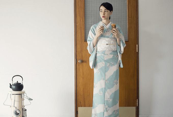 自宅で洗える「KIMONO by NADESHIKO」の着物