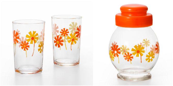 昭和の人気ガラスウェアを復刻した「アデリアレトロ」コップとガラス瓶