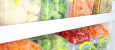 料理の時短につながる食材の冷凍保存